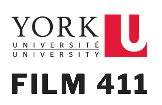image of Film 411 underneath the York University logo